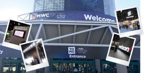 10月22~24日に開催された携帯関連見本市「MWC19ロサンゼルス」の展示会場の様子