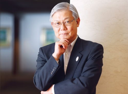 NECの新野隆社長は低迷する業績を立て直すことができるのか(写真:村田 和聡)