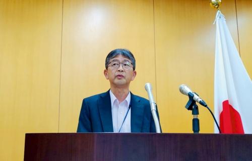 リクルートキャリアへの勧告・指導を発表した個人情報保護委員会の松本秀一参事官