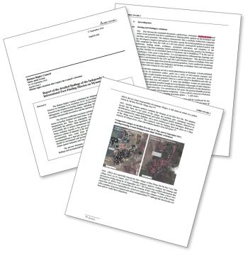図 「ロヒンギャ問題」に関する包括的な調査分析報告書