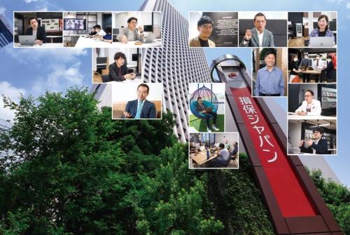 写真:村田 和聡(1段目中央、2段目右、3段目、建物全景)、保刈 正行(2段目左)、画像提供:SOMPOホールディングス(2段目中央、3段目左)