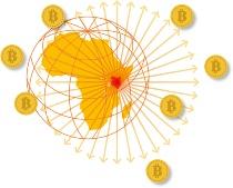 世界中の企業にビットコインで海外送金