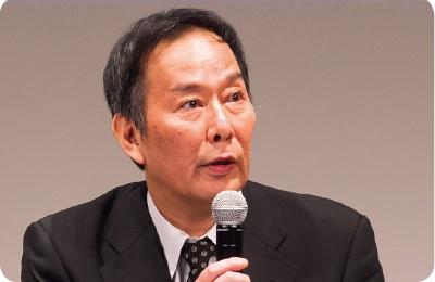 特別講演する日本郵船CIOの丸山英聡専務
