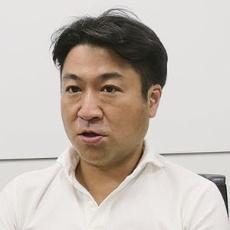 ISIDの伊藤千恵金融事業開発部長(左)と三菱地所 ビル営業部の堺美夫統括