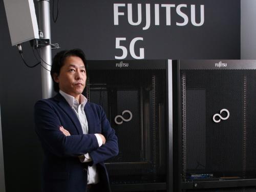 後藤氏は「ローカル5Gを切り口に富士通の変革へ貢献したい」と語る(写真:陶山 勉)