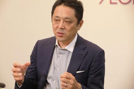 イオンのデジタル事業担当齊藤岳彦執行役。イオンダイレクト社長、イオンリテール取締役、イオントッドコム社長(現任)を経て、現職