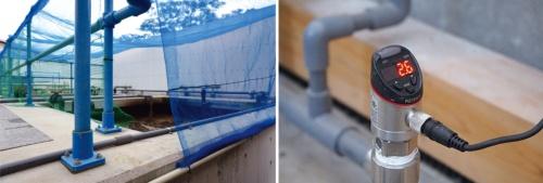 浄化槽の稼働状況は膜厚センサーで計測
