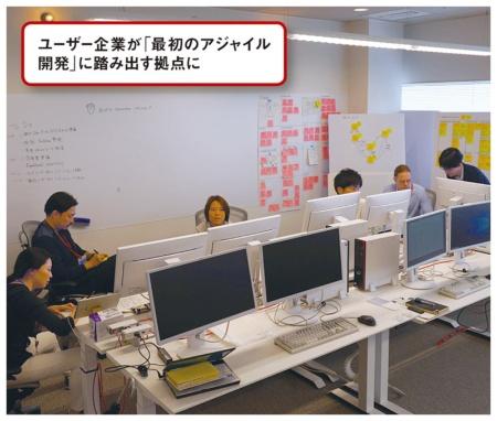 図 富士通と伊藤忠テクノソリューションズ(CTC)が2018年に新設したアジャイル開発拠点