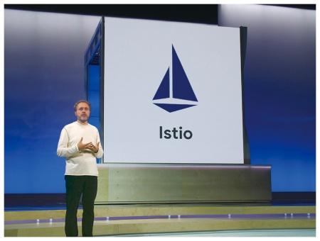 コンテナ管理の次はマイクロサービス管理。新ソフト「Istio」を説明する米グーグルのウルス・ヘルツル上級副社長