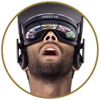 VR用匂いデバイス「VAQSO VR」(画像出所:VAQSO)