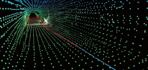 図1■ 3次元点群データから走行ルートを決める