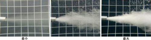図1■ ナノバブルを吹き付ける