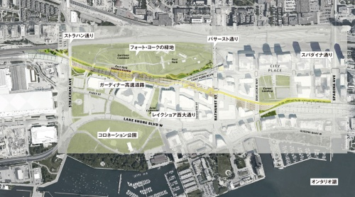 図1■ 1.75kmの散歩道「ザ・ベントウエイ」