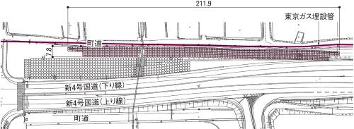図1■ 900本超の改良体で地盤を強化
