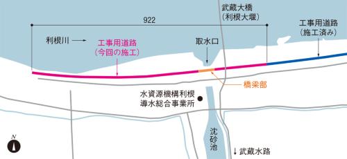 図1 ■ 施工箇所の位置図