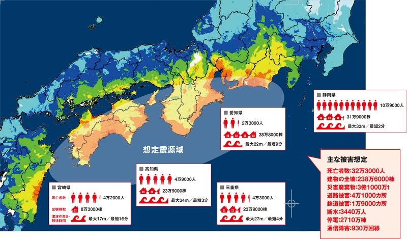南海 トラフ 地震 東京 3・11東日本大震災の直前と同じ異変が 東大名誉教授・村井俊治が警告する...