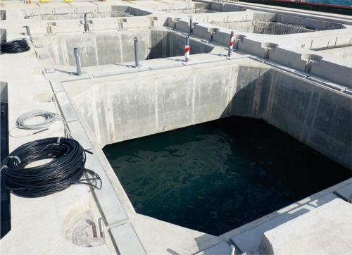 床版を取り付ける前。桟橋は2018年度に施工(写真:国土交通省)