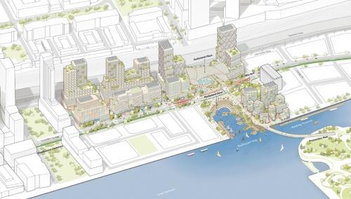 図2■ カナダ・トロントの水辺に先端技術都市を計画