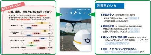 図1■ 公務員ではなく「滋賀県」を志望してもらえるように訴求