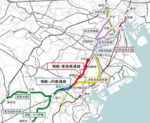 図1■ 神奈川県央部と東京都心を直結