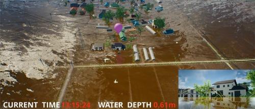 図1■ AIとドローンで浸水被害を予測