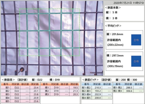 図1■ 3眼カメラで鉄筋を立体視