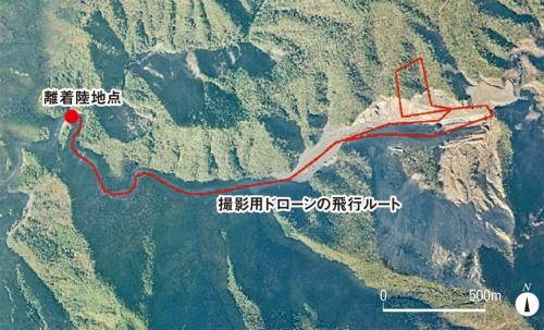 図2■ 約6kmのルートを15分間自律飛行