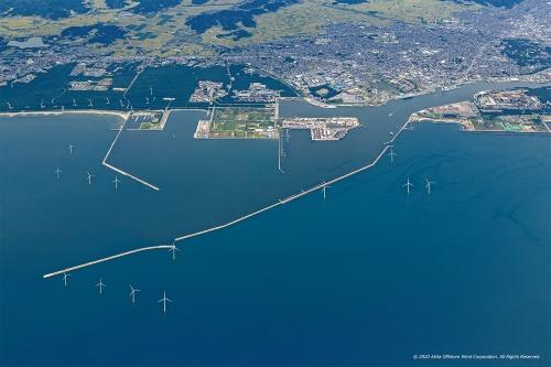 図3■ 日本各地の海に風車が並び始める