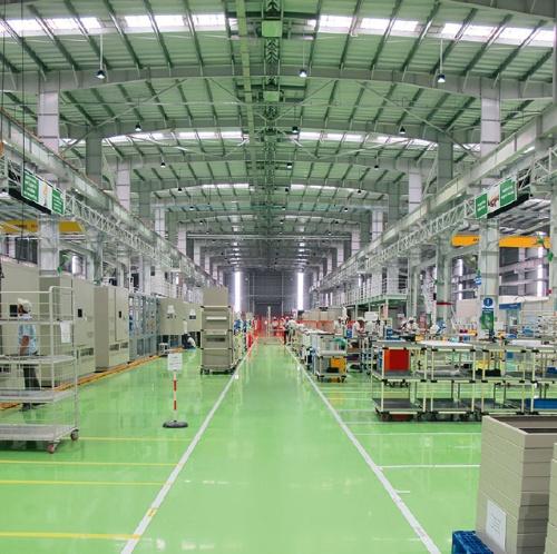 図1 インド工場の内観