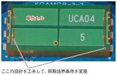 (a)京セラのアムセナは単位セル4個のみ