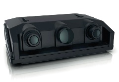 ドイツZFの3眼カメラ「TriCam」(出所:ZF)