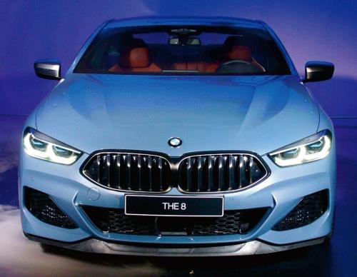 図1 BMWの新型クーペ「8シリーズ」
