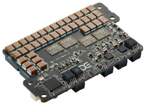 図1 GaN搭載の電源回路で電解コンデンサーをなくした電源
