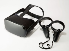 米Oculus VRが発売したスタンドアローン型VR用ヘッドマウントディスプレー「Oculus Quest」