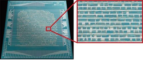 図1 1万4702個のCNTトランジスタを実装