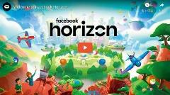 「Facebook Horizon」を発表(出典:Oculusの公式動画をキャプチャーしたもの)
