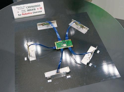 図6 10個のセンサーを接続可能