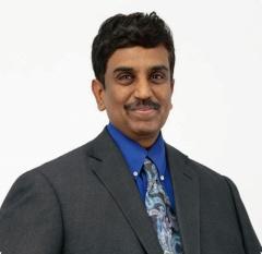 ルネサス エレクトロニクス執行役員常務兼IoT・インフラ事業本部長のSailesh Chittipeddi氏。(写真:同社)