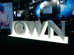 NTTが進める次世代情報通信基盤構想「IOWN」(撮影:日経クロステック)