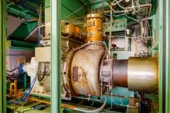 液体アンモニアと天然ガスを混焼する2000kW級ガスタービン(写真:IHI)