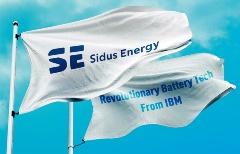 Sidus EnergyとIBMが「革命的」次世代電池を量産へ(写真:Sidus  Energy)