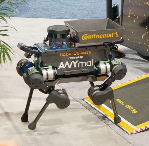 図2 犬型4足歩行ロボット「ANYmal」