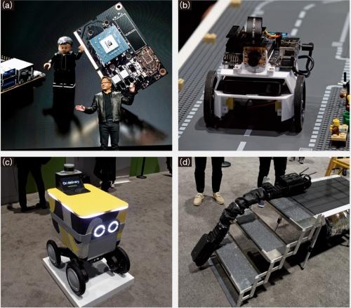 図1 NVIDIAのイベントでロボットが相次ぎ登場