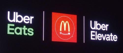 (b)McDonald'sと提携