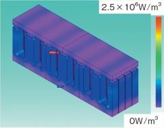 採用したEI型の誘導加熱コイル。(図:田中氏)