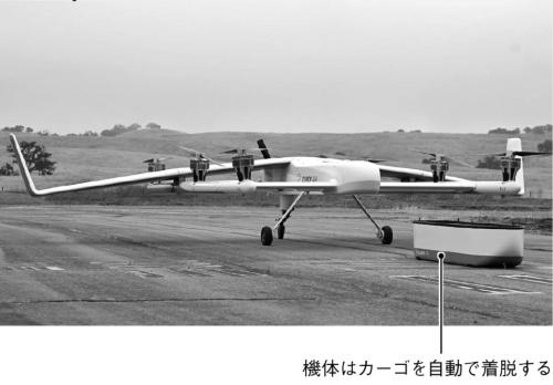 (c)Elroy Air社の物流ドローン