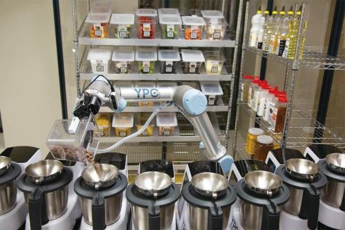 図1 調理ロボットシステムの外観