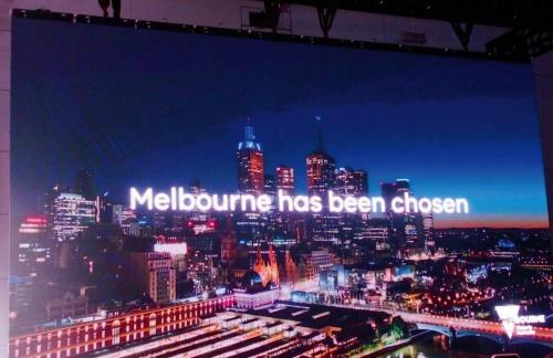 図2 第3の実証試験都市はオーストラリアのメルボルン