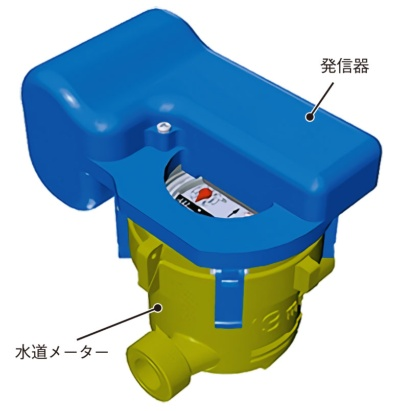 図1 水道メーターをスマート化