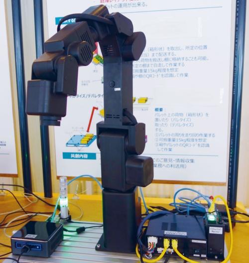 図3 手作業を代替するロボットアームを開発